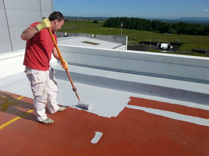 Cold Applied Bituminous Membrane : Liquid roofing is the process of