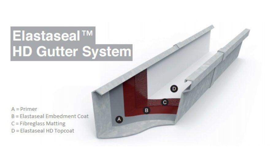 tor elastaseal hd gutter system