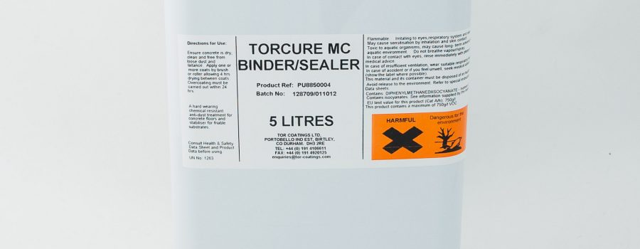 TOR TORCURE MC BINDER/SEALER – PU885