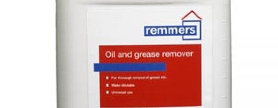 REMMERS OIL & GREASE REMOVER