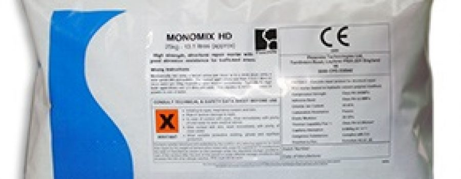 FTL MONOMIX Heavy Duty Repair Mortar Grey