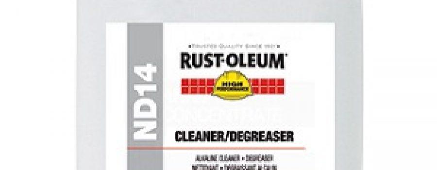 RUSTOLEUM CLEANER / DEGREASER