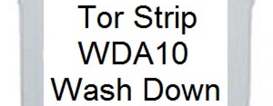 TOR TORSTRIP WASH DOWN AGENT