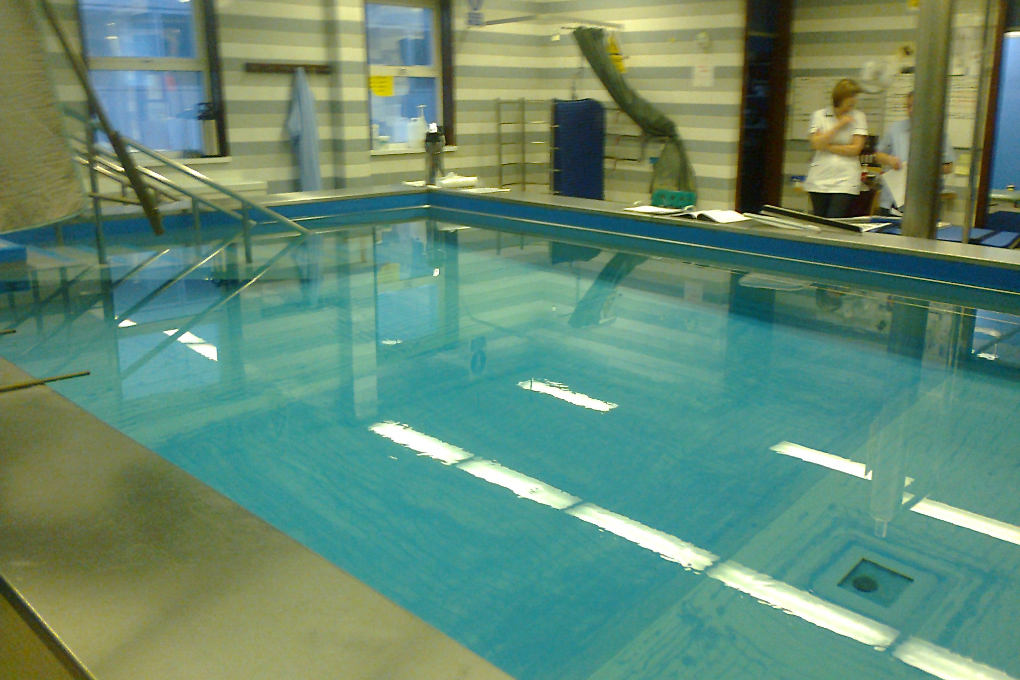 Hydrotherapy Pool Lining At Royal Victoria Hospital