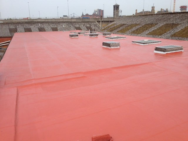 Liquid Cold Applied Roof Coating At Beggs Amp Partners Belfast