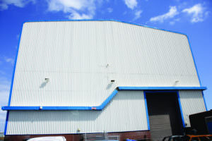 metal cladding renovation